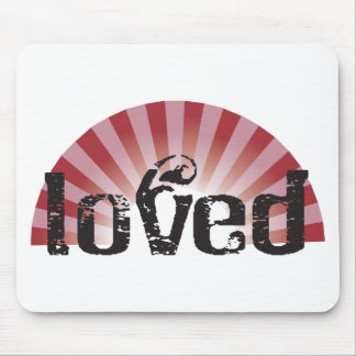 loved mouse pad