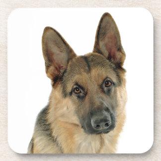Loved & Protected by a German Shepherd Coaster