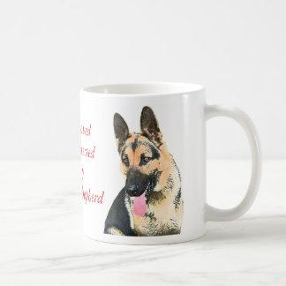 Loved & Protected By A German Shepherd Coffee Mug