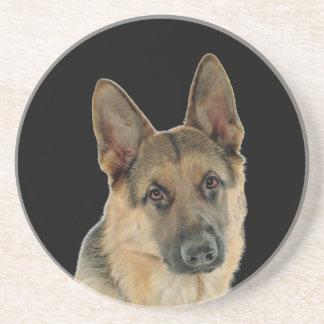 Loved & Protected by a German Shepherd Drink Coaster
