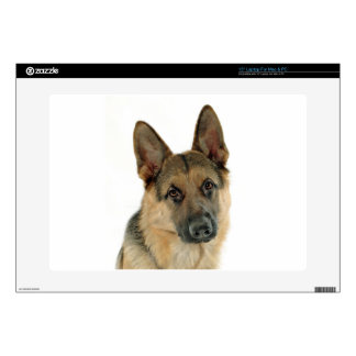 Loved & Protected by a German Shepherd Laptop Decal