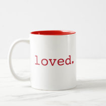 Loved Red Mug