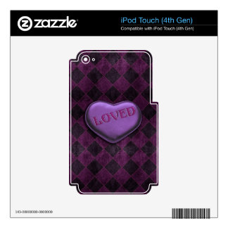 Loved iPod Touch 4G Decals