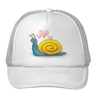 Loved snail with big heart - Hat