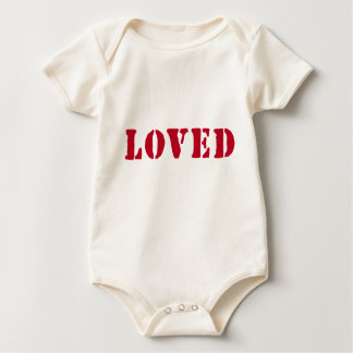 Loved Stamp Organic Baby Bodysuit