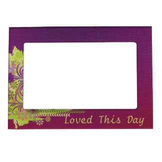 Loved This Day Photo Frame Magnet
