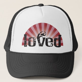 loved trucker hat