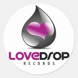LoveDrop registra al pegatina