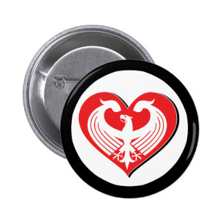 LoveGermany_2 2 Inch Round Button