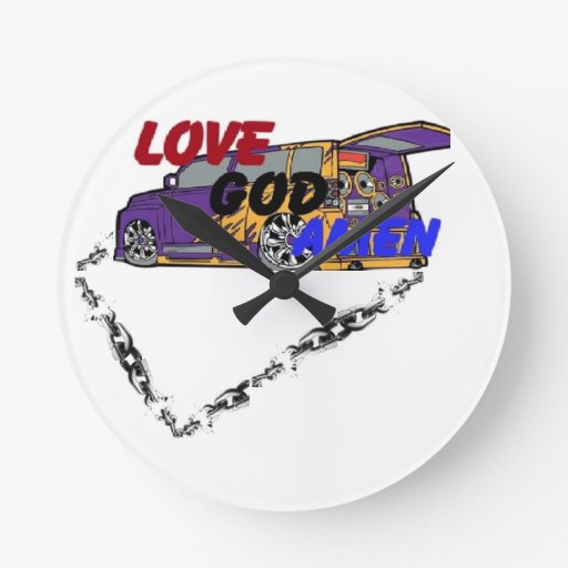 lovegodamen clock cool