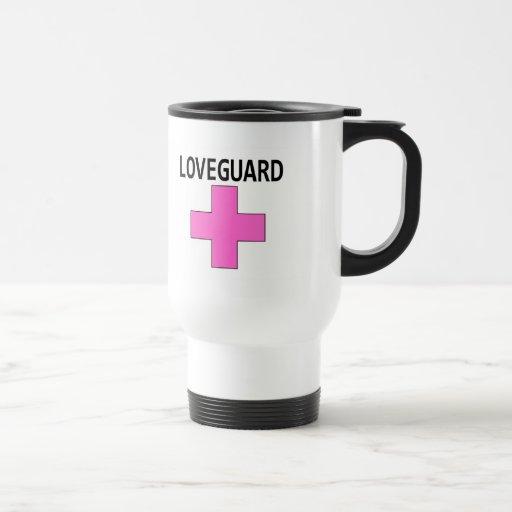 Loveguard (rosa) taza de café