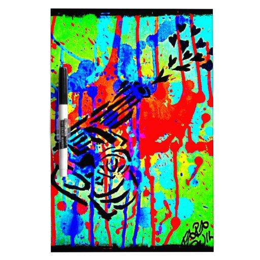 LoveGun Dry Erase Board