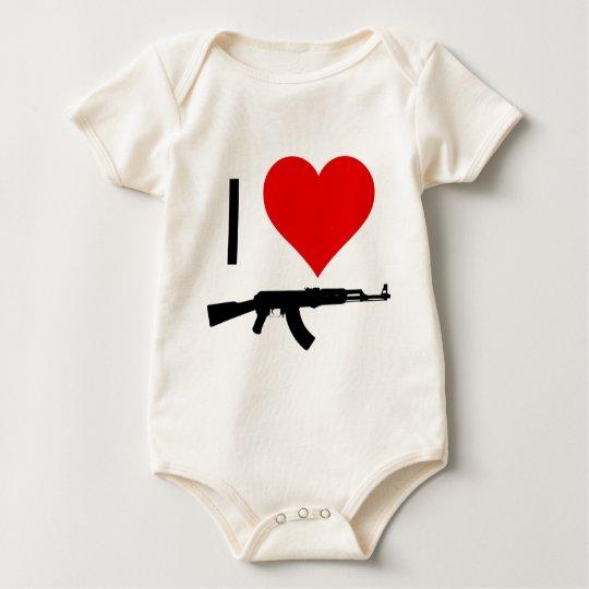 loveguns body para bebé