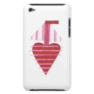 Loveheart Boat 4th Generation I-Pod Touch Case