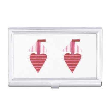 Professional Business Loveheart Boat Business Card Holder