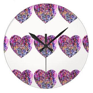 Loveheart clock