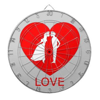 LoveHeart Dartboard