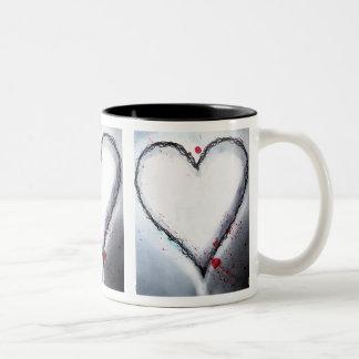 Loveheart mug