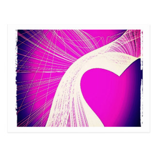loveheart postcard