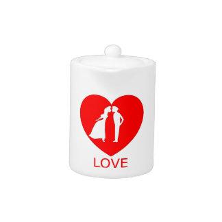 LoveHeart Teapot