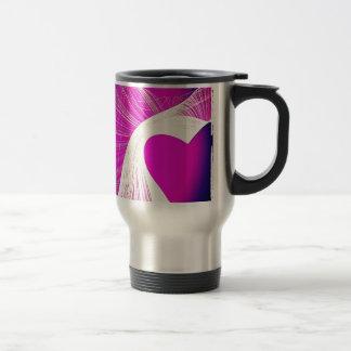 loveheart travel mug