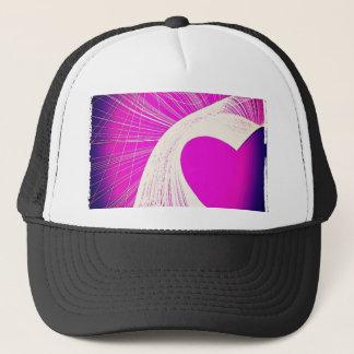 loveheart trucker hat