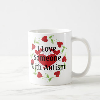 LoveHearts-Autism Coffee Mug