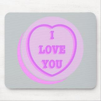 """""""Lovehearts"""" mousepad"""