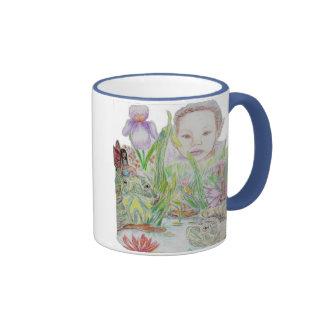 Loveing Nature Ringer Coffee Mug