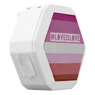 #LoveIsLove boom box speaker
