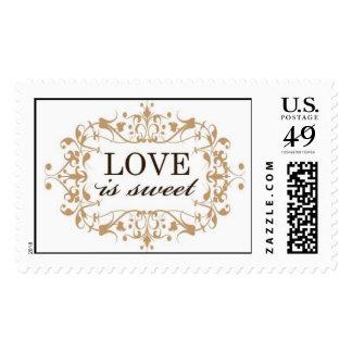 LOVEissweet Postage Stamp
