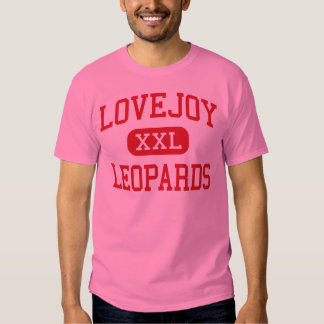 Lovejoy - leopardos - escuela secundaria - Allen Playeras