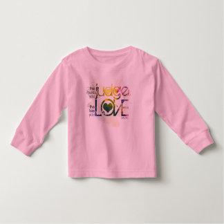 lovejudge2 copy toddler t-shirt