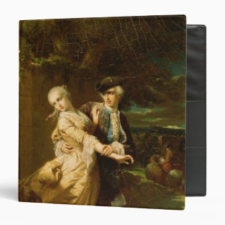 Lovelace Abducting Clarissa Harlowe, 1867 3 Ring Binder