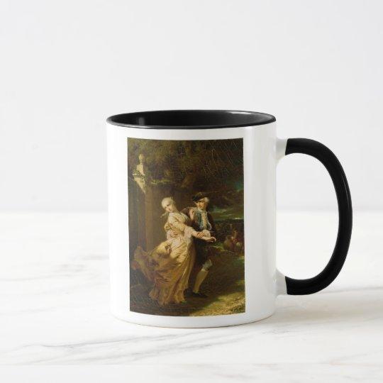Lovelace Abducting Clarissa Harlowe, 1867 Mug
