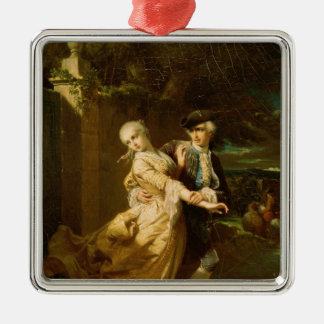 Lovelace Abducting Clarissa Harlowe, 1867 Ornaments