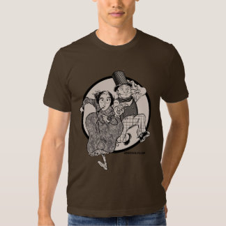 Lovelace and Babbage Leap T Shirt