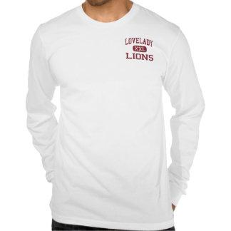 Lovelady - leones - High School secundaria - Camiseta
