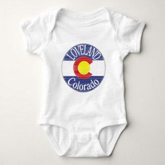 Loveland Colorado circle flag T-shirt