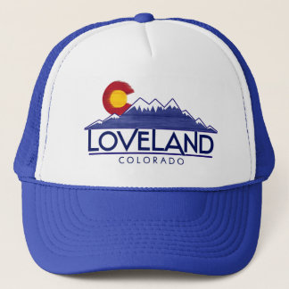 Loveland Colorado wood mountains hat