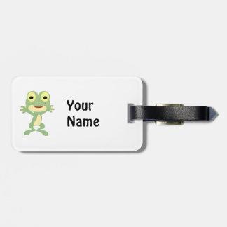 Loveland Frogman Luggage Tag