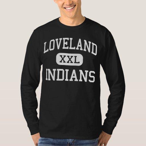 Loveland - indios - alto - Loveland Colorado Playera