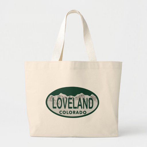 Loveland license oval canvas bag