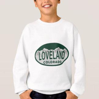 Loveland license oval sweatshirt