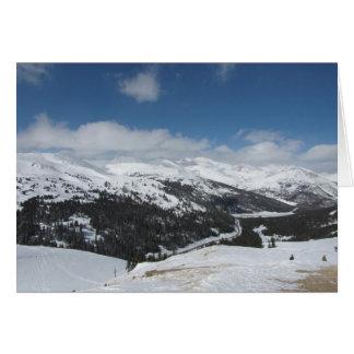 Loveland Pass, Colorado Card