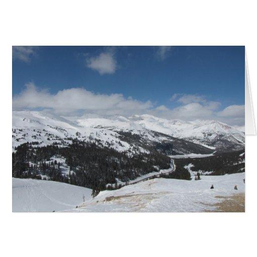 Loveland Pass, Colorado Greeting Card