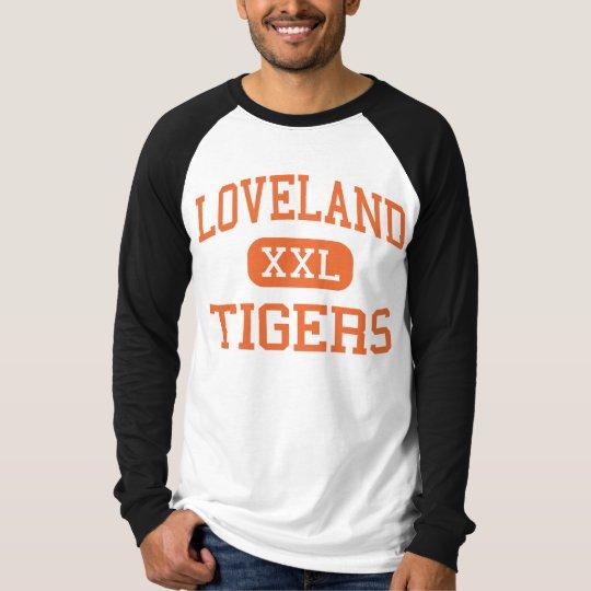 Loveland - Tigers - High School - Loveland Ohio T-Shirt