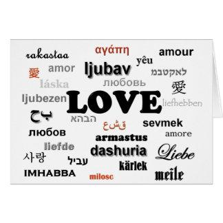 lovelanguage greeting card