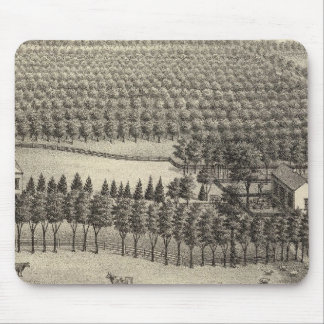 Loveless Farm, Nebraska Mouse Pad
