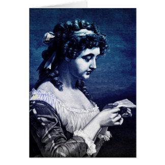 Loveletter Maiden Note Card